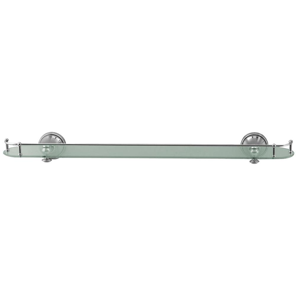 Aquabrass Glass Shelf 27 1/2'' X 4''