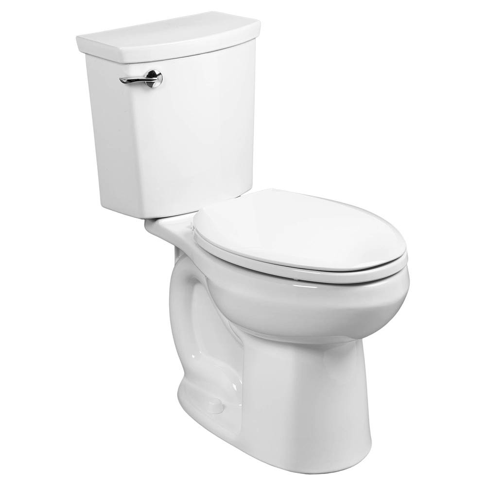 American Standard H2Optimum Siphonic Right Height Elongated Toilet