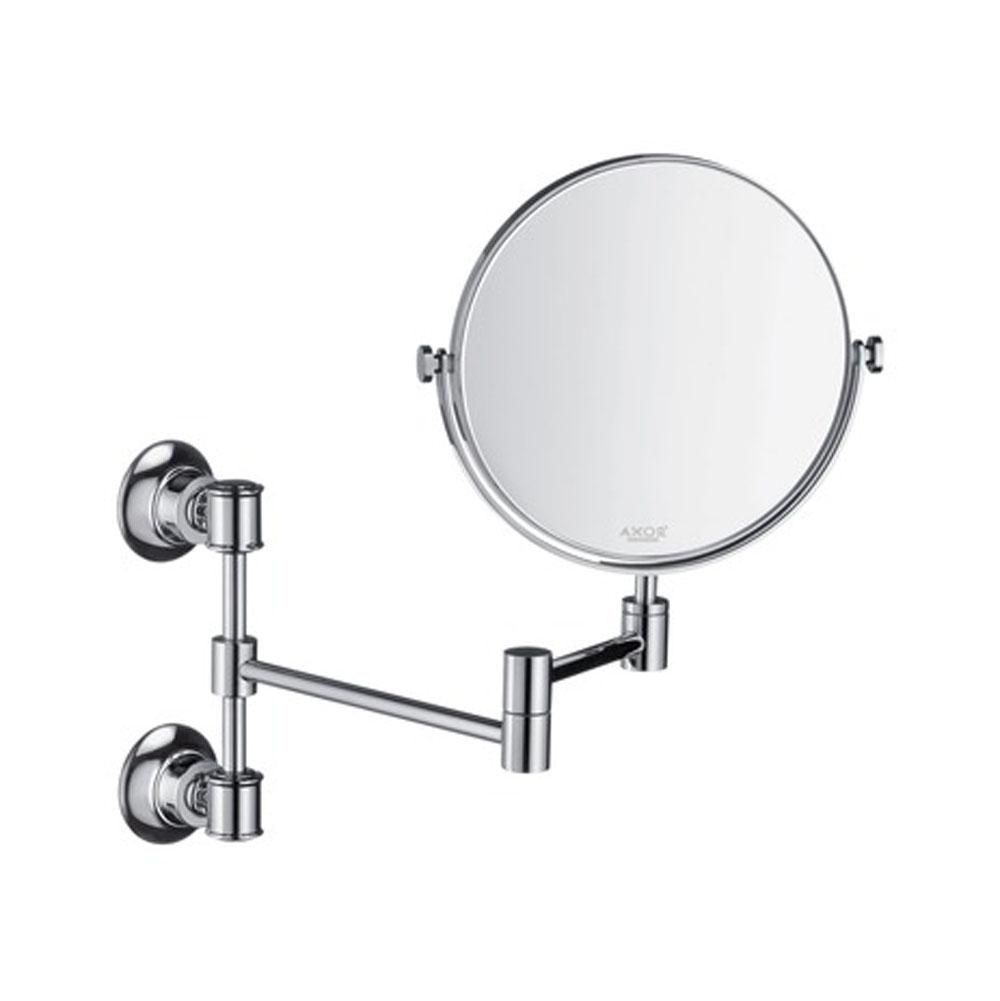 Axor AXOR Montreux Shaving Mirror in Brushed Nickel