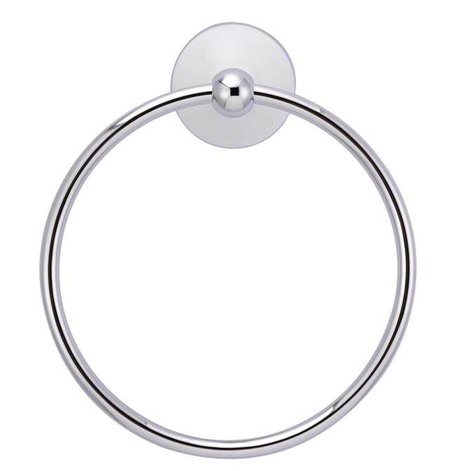Barclay Anja Towel Ring, Polished Chrome