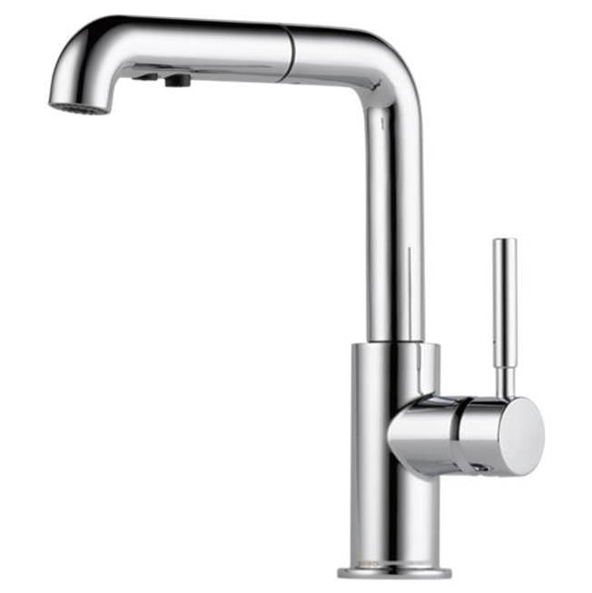 Brizo Solna: Single Handle Pull-Out Kitchen Faucet