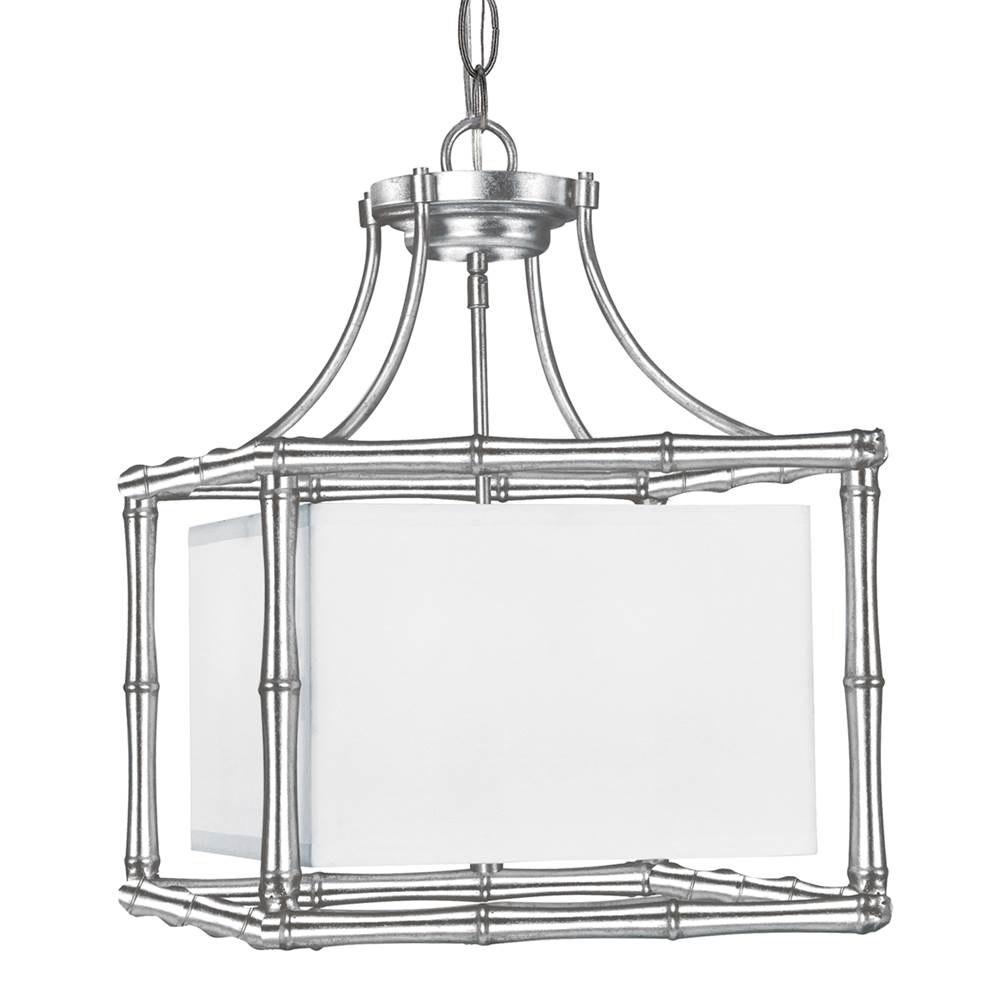 Crystorama Libby Langdon for Crystorama Masefield 4 Light Antique Silver Mini Chandelier