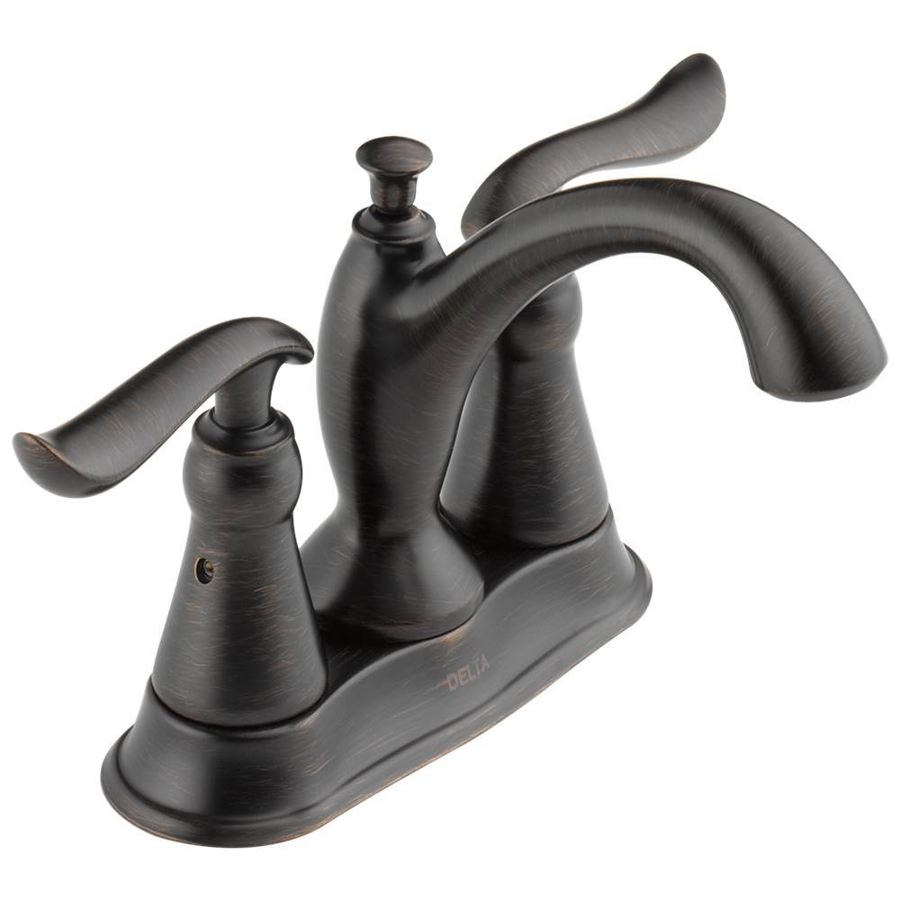 Delta Faucet Linden: Two Handle Tract-Pack Centerset Bathroom Faucet