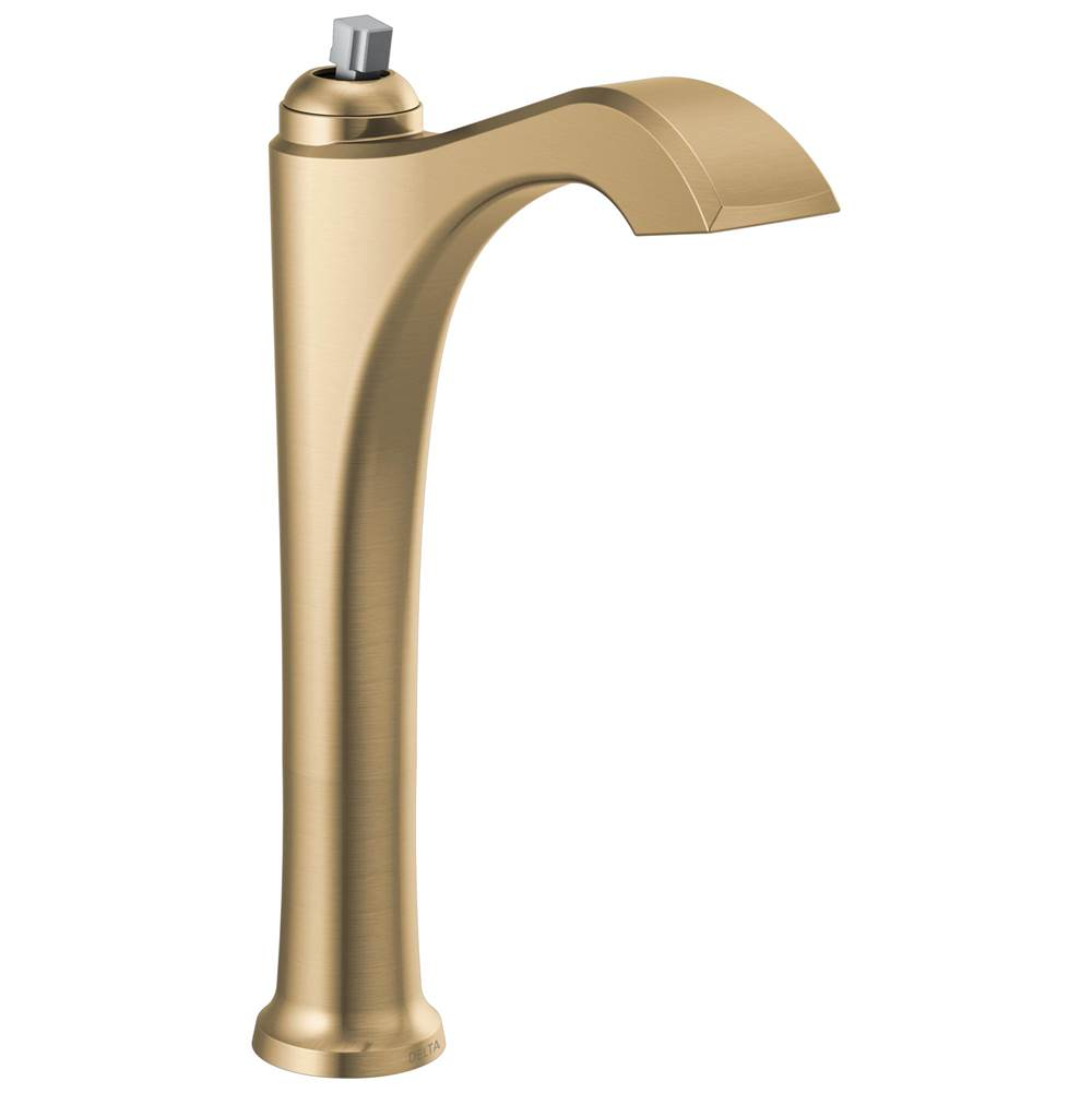 Delta Faucet Dorval: Single Handle Vessel Bathroom Faucet - Less Handle