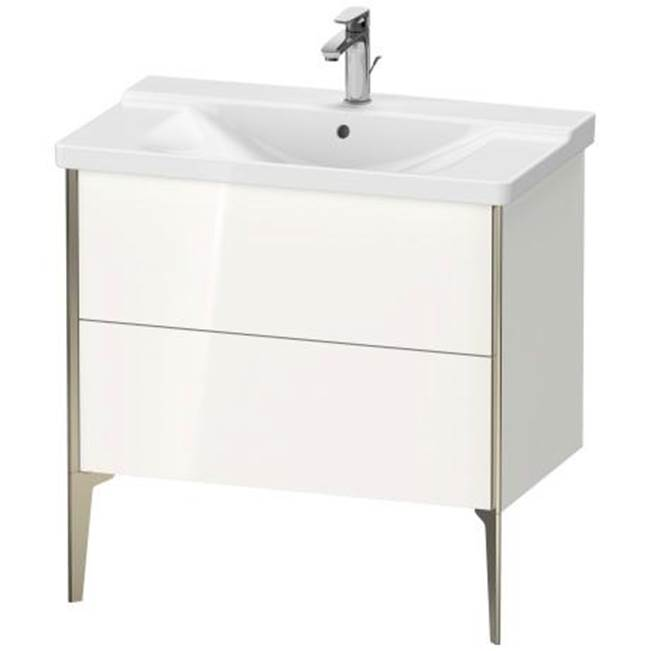 Duravit Duravit XViu Floor Standing Vanity Unit  White High Gloss