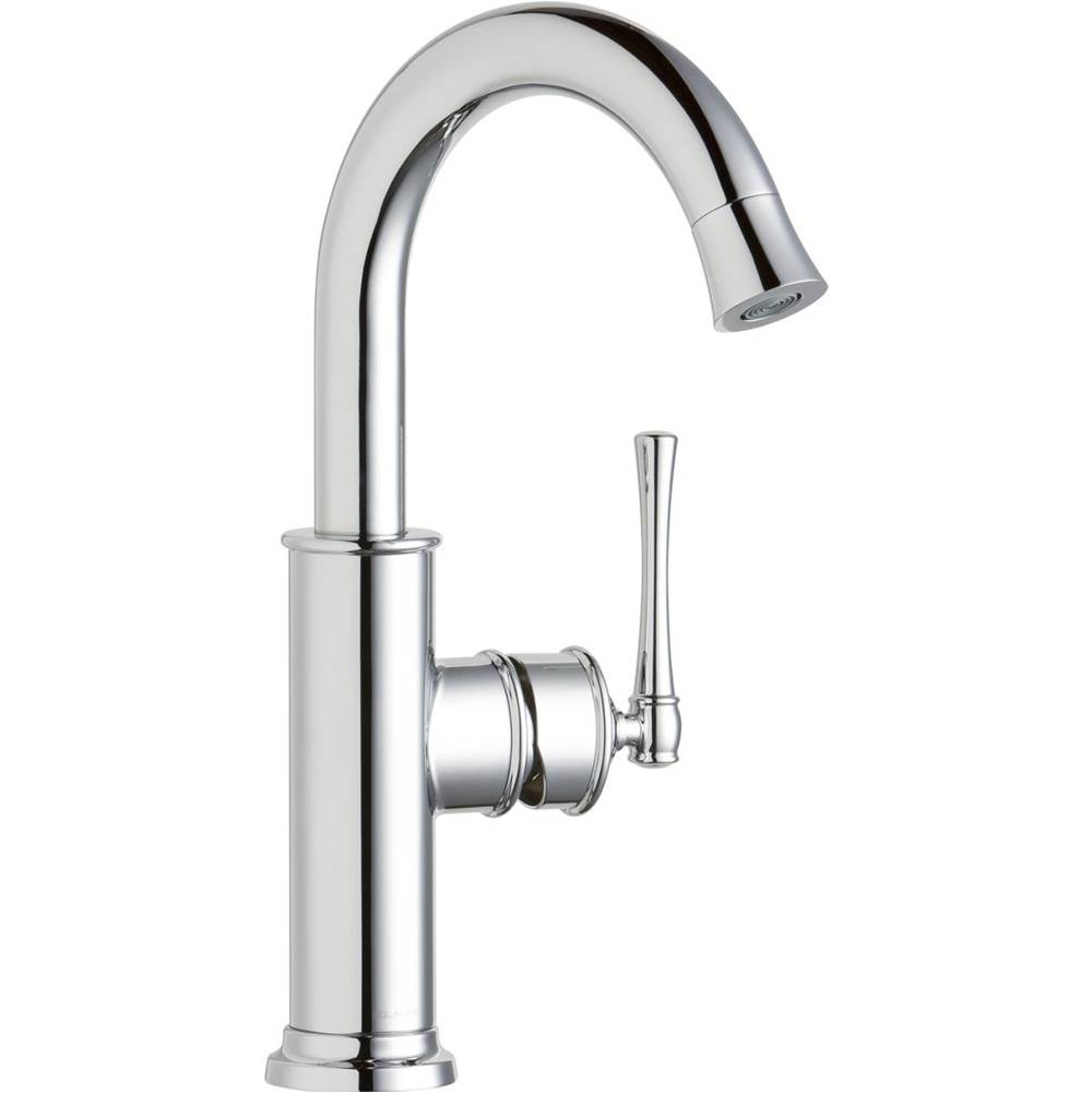 Elkay Elkay Explore Single Hole Bar Faucet with Forward Only Lever Handle Chrome