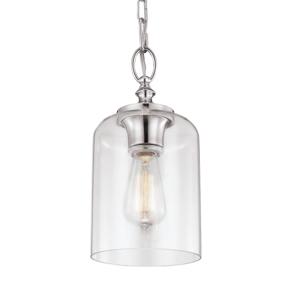 Generation Lighting Hounslow Clear Glass Mini Pendant