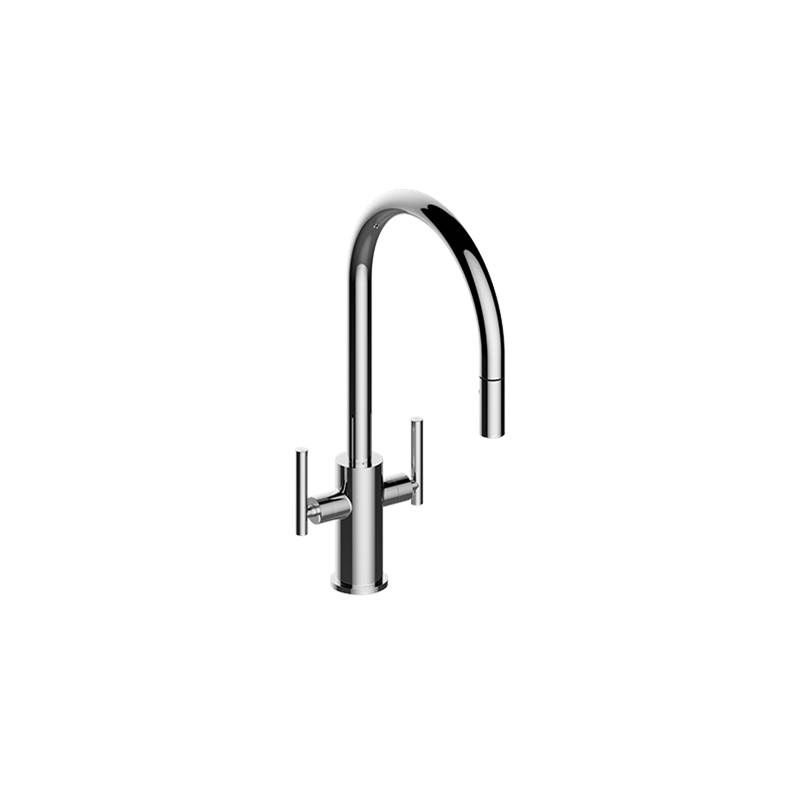 Graff Contemporary Two-Handle Single-Hole Kitchen Faucet