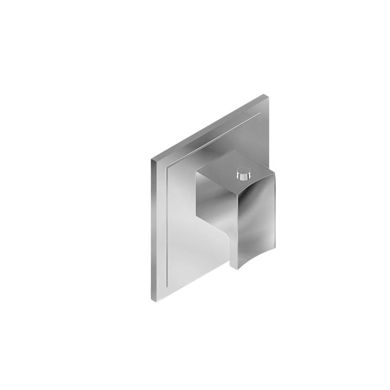 Graff M-Series Transitional Square Thermostatic Trim Plate with Sade/Targa Handle
