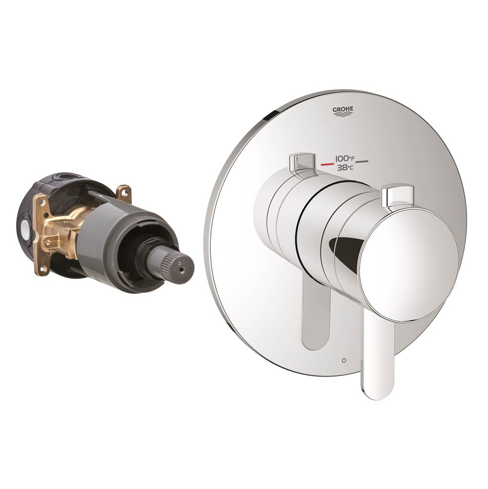Grohe Single Function Thermostatic Valve Trim