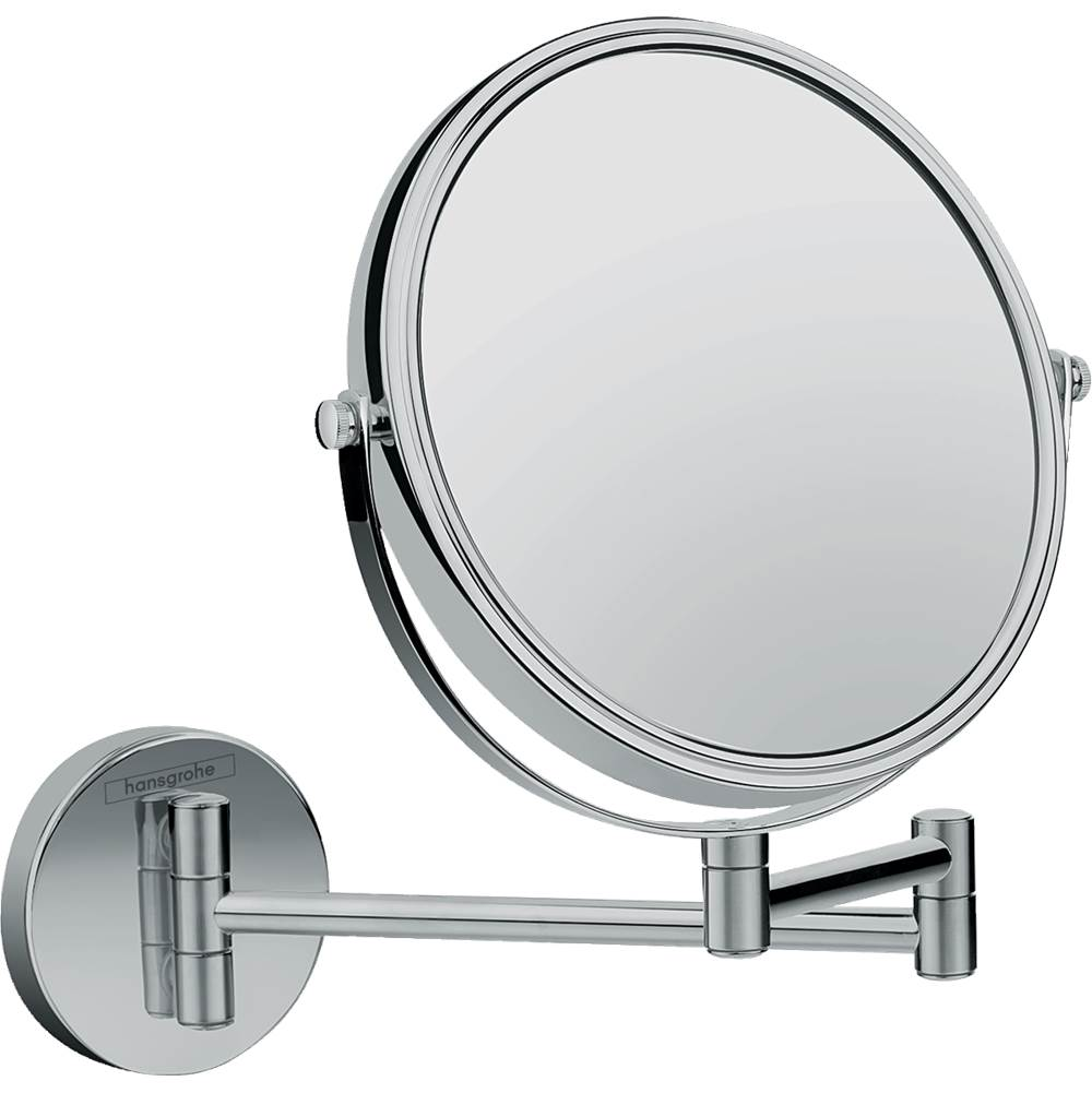 Hansgrohe Logis Universal Pull-Out Shaving Mirror In Chrome