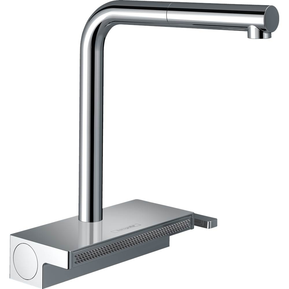 Hansgrohe Aquno Select Kitchen Faucet, 2-Spray Pull-Out With Sbox, 1.75 Gpm In Chrome