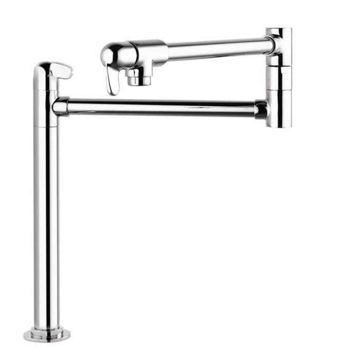 Hansgrohe Allegro E Pot Filler, Deck-Mounted In Steel Optic