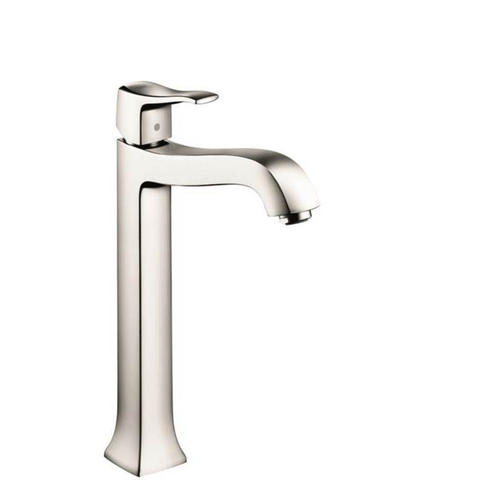 Hansgrohe Metris C Single-Hole Faucet 250 With Pop-Up Drain, 1.2 Gpm In Polished Nickel