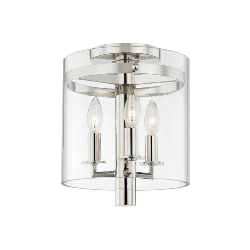 Hudson Valley Lighting 3 Light Flush Mount