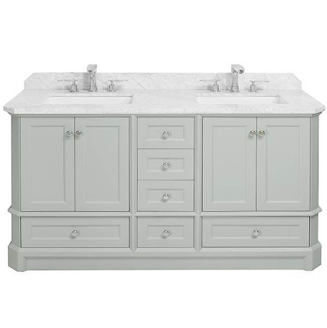 Icera Richmond Vanity Cabinet, 60-in Ocean Greay