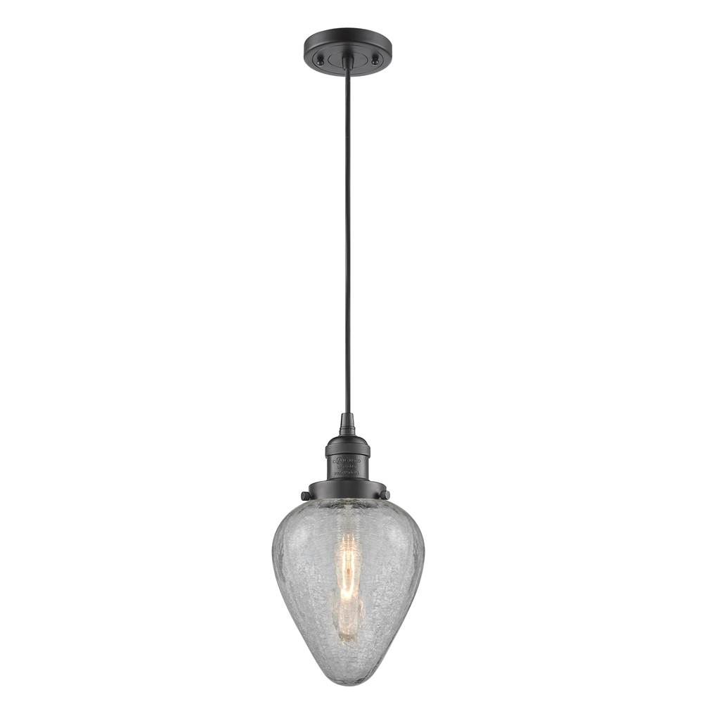 Innovations Geneseo 1 Light Mini Pendant part of the Franklin Restoration Collection