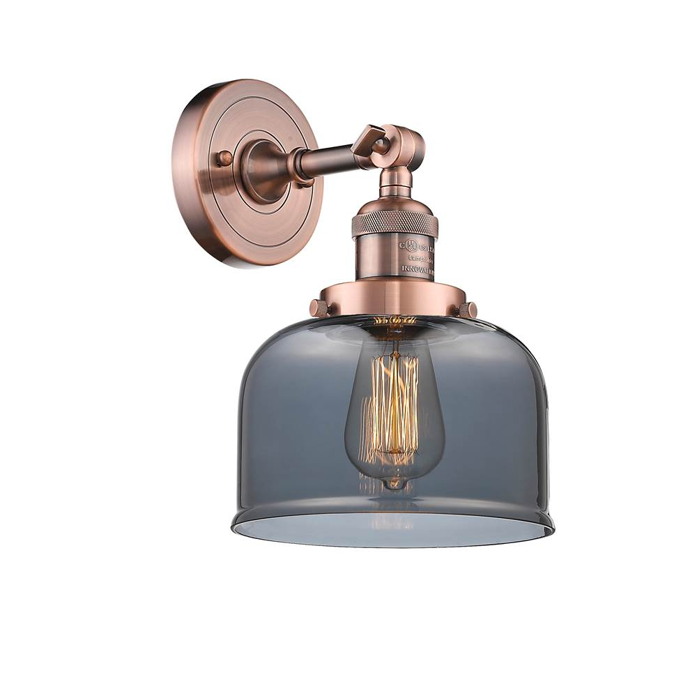 Innovations Large Bell 1 Light Sconce part of the Franklin Restoration Collection