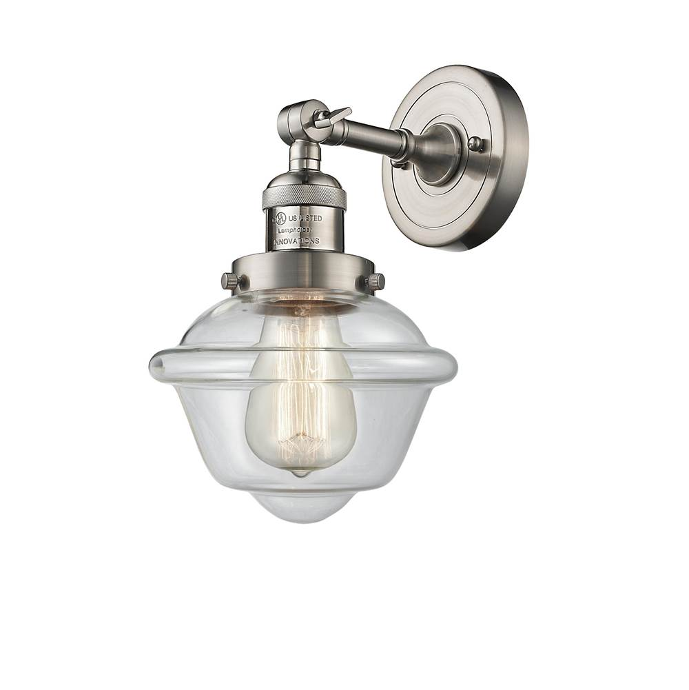 Innovations Small Oxford 1 Light Sconce part of the Franklin Restoration Collection