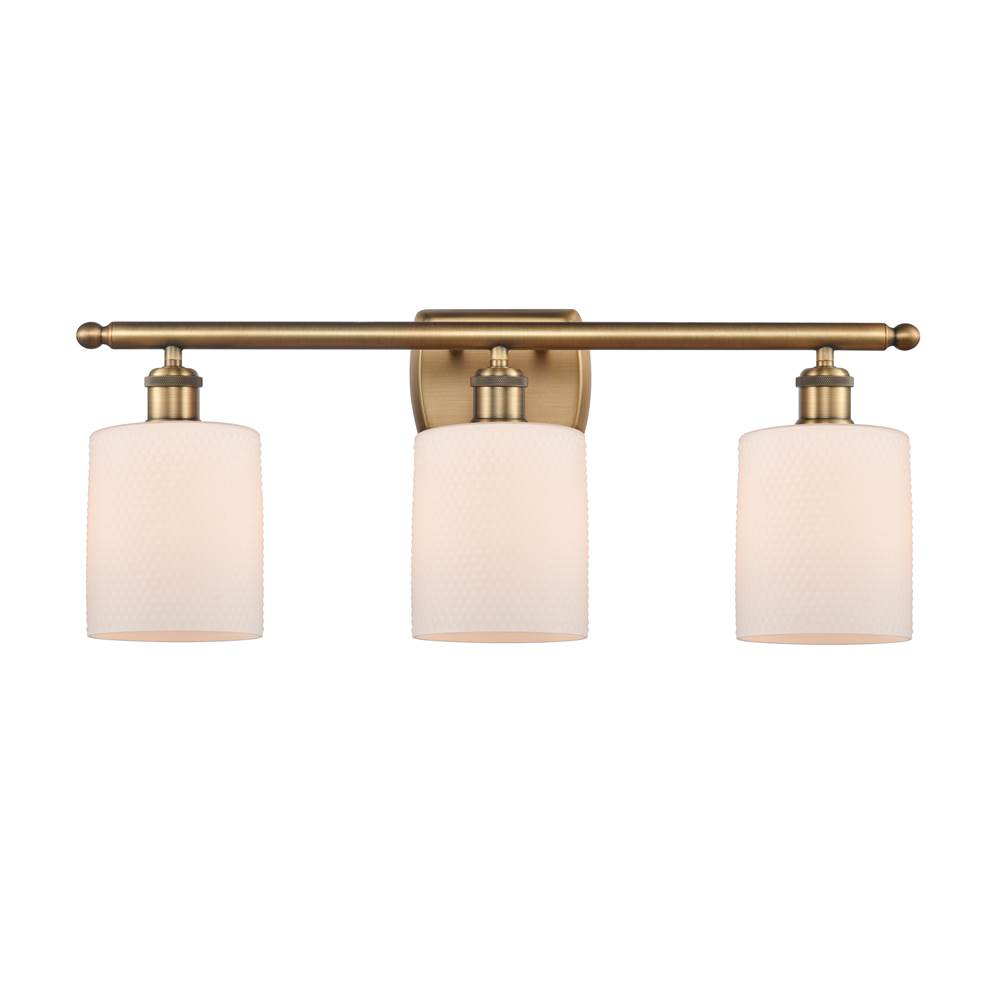 Innovations Cobbleskill 3 Light Bath Vanity Light