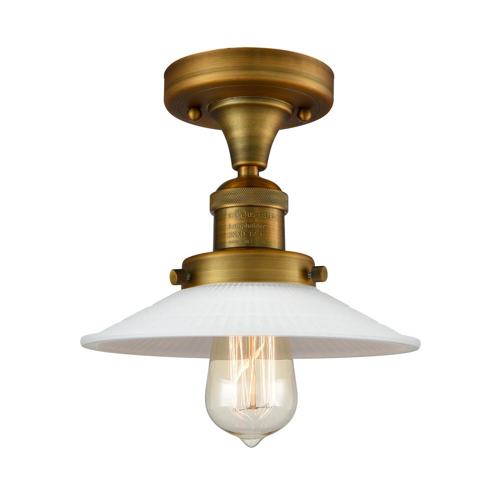 Innovations Halophane 1 Light Semi-Flush Mount