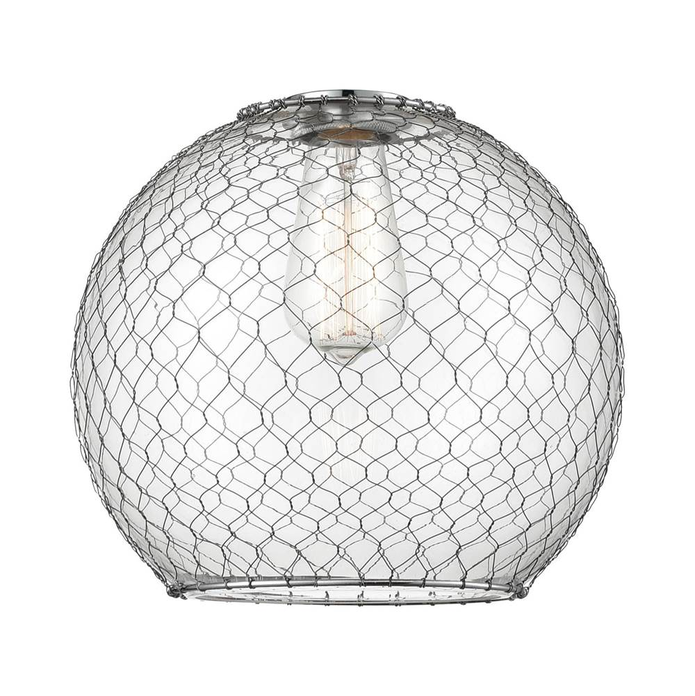 Innovations Large Farmhouse Chicken Wire Glass
