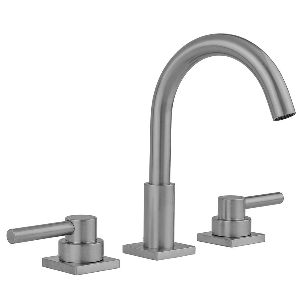 Jaclo Uptown Contempo Faucet with Square Escutcheons and Low Lever Handles