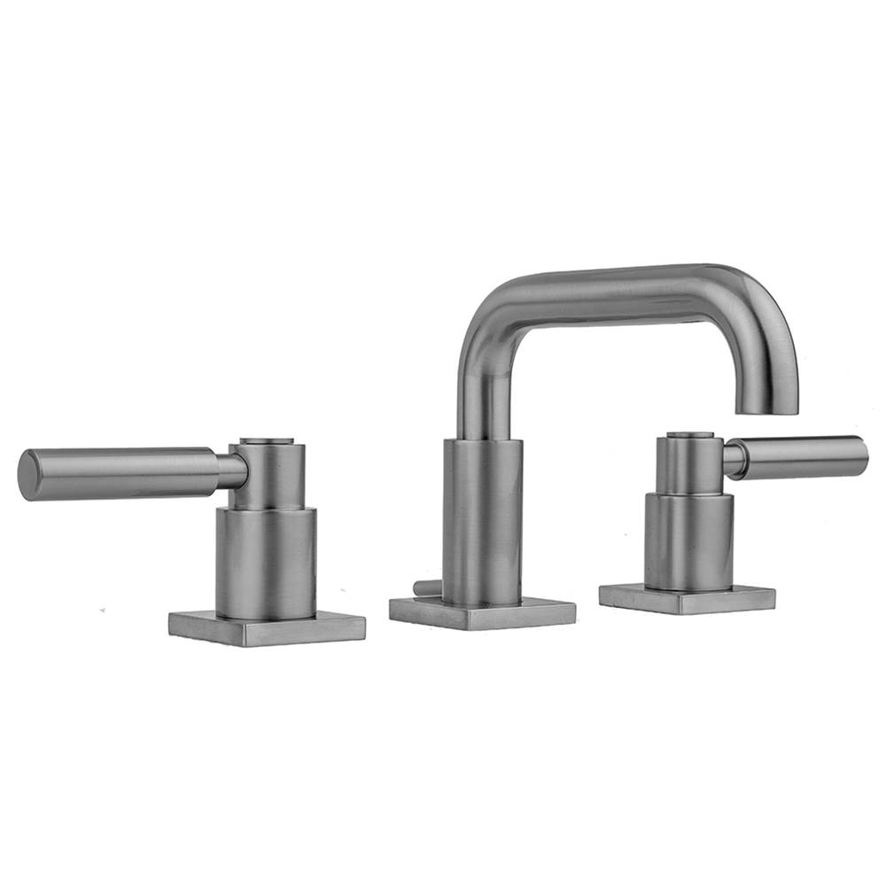 Jaclo Downtown Contempo Faucet with Square Escutcheons and High Lever Handles -1.2 GPM