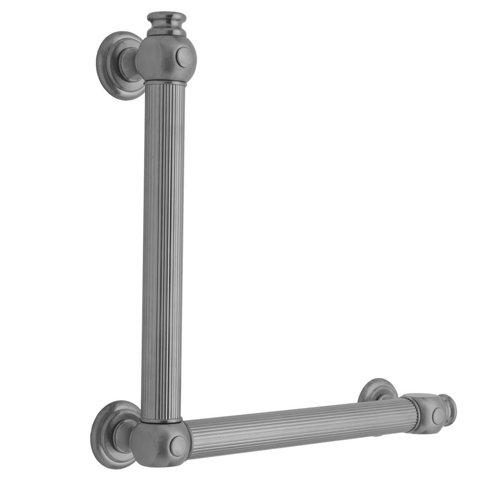 Jaclo G61 16H x 24W 90 degrees Right Hand Grab Bar