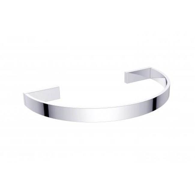 Kartners COLOGNE - Curved Towel Ring - Matte White