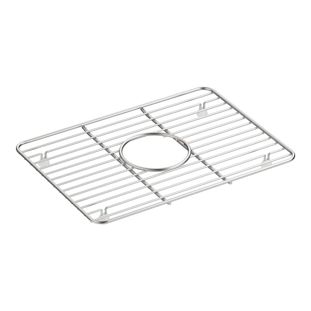Kohler Cairn Stainless Steel Sink Rack, 10-3/8 In. x 14-1/4 In., for Small Bowl
