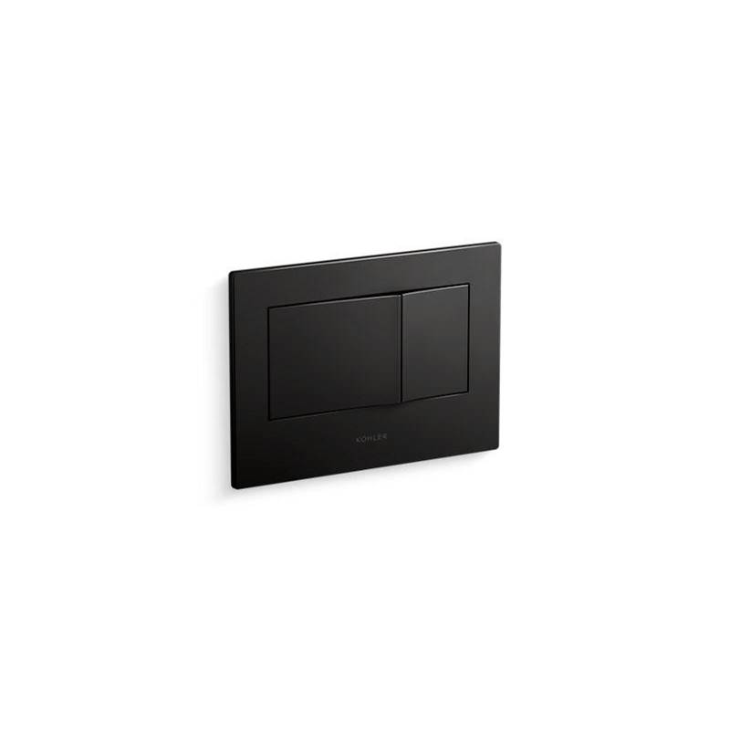 Kohler Bevel® Flush actuator plate for 2''x4'' in-wall tank and carrier system