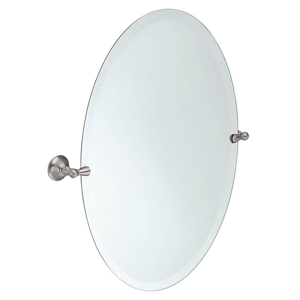 Moen Brushed nickel mirror
