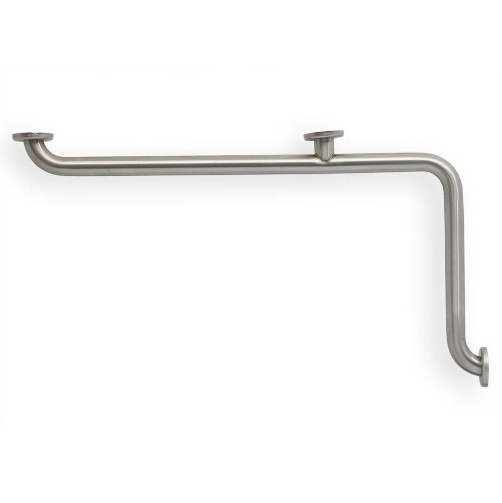 Mustee And Sons 1 1/2'' Ss Grab Bar L 34'' X 18'' Smooth