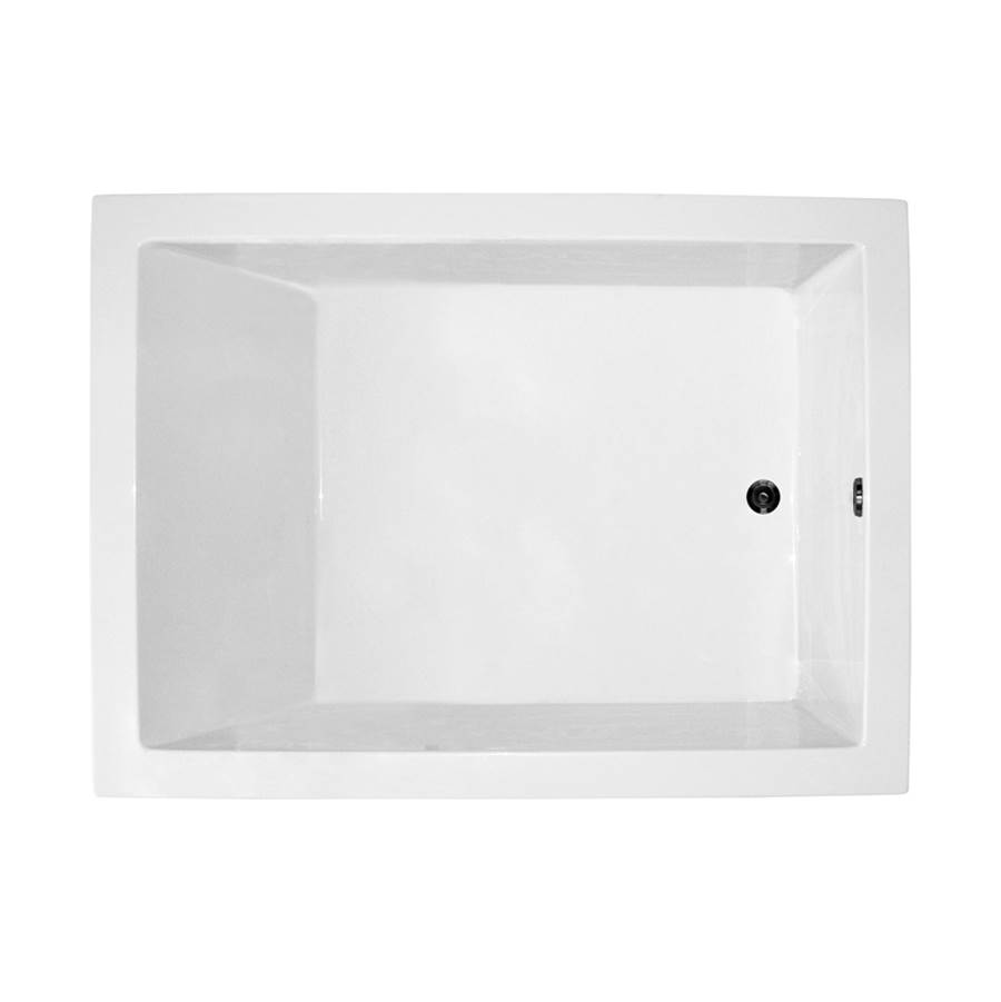MTI Baths 54x42 BISCUIT WHIRLPOOL DROP IN ANDREA 21