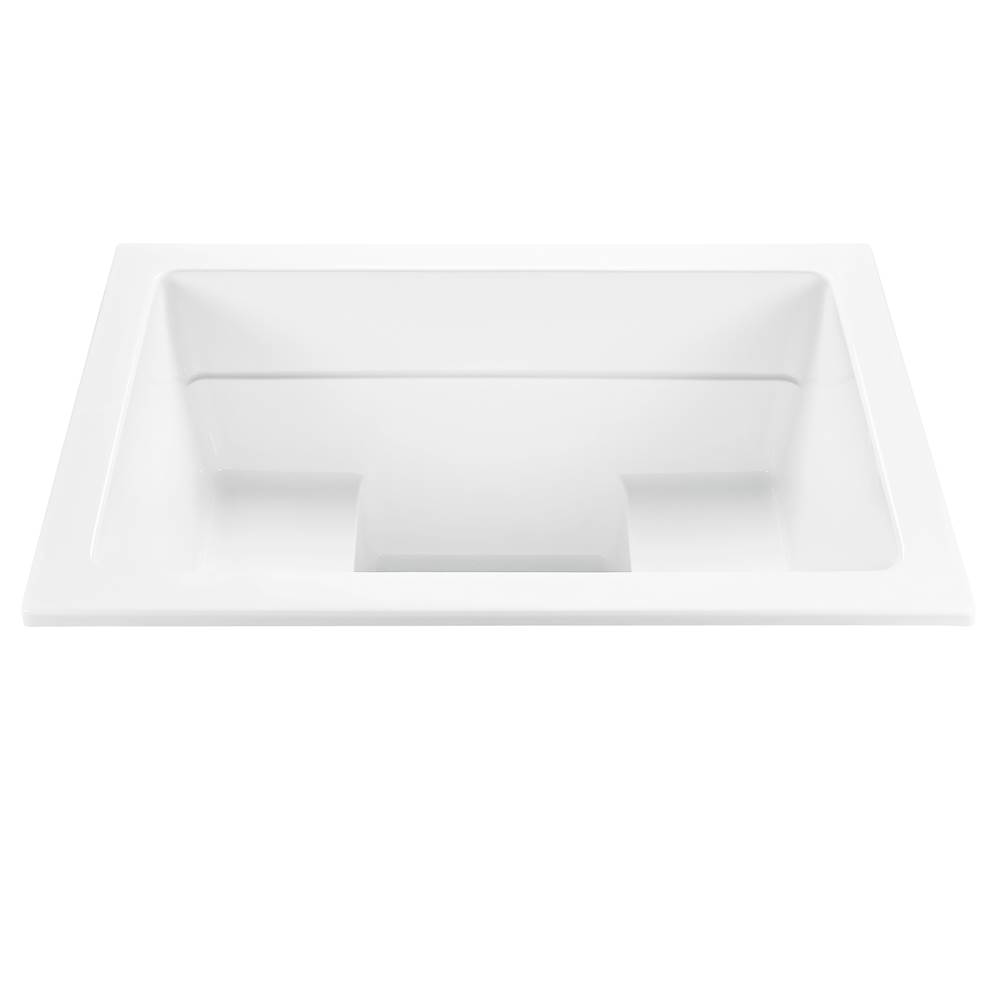 MTI Baths 66X42 WHITE UNDERMOUNT AIR BATH YUBUNE