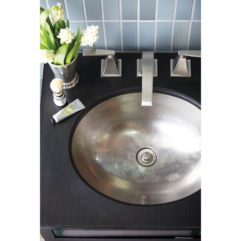 Native Trails Classic Bathroom Sink in Brushed Nickel