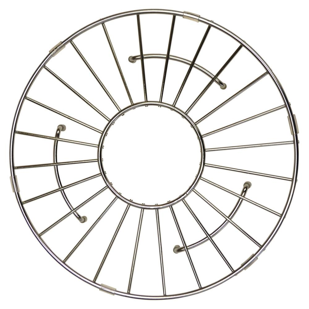 Native Trails 11'' Round Bottom Grid in Stainless Steel