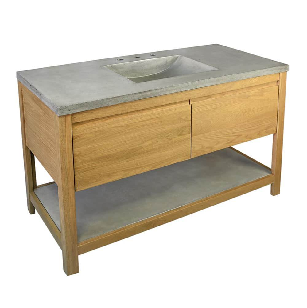 Native Trails 48'' Solace Vanity in Sunrise Oak - Top sold separately