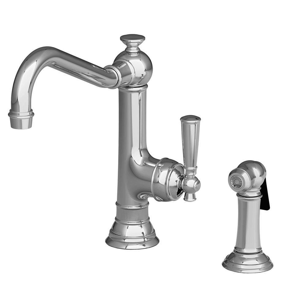 Newport Brass Single Handle Kitchen Faucet with Side Spray