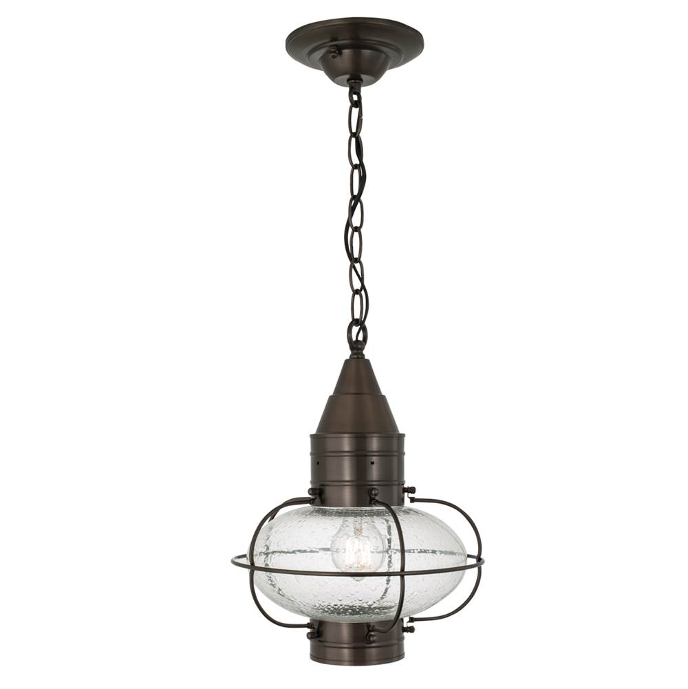 Norwell One Light Bronze Hanging Lantern