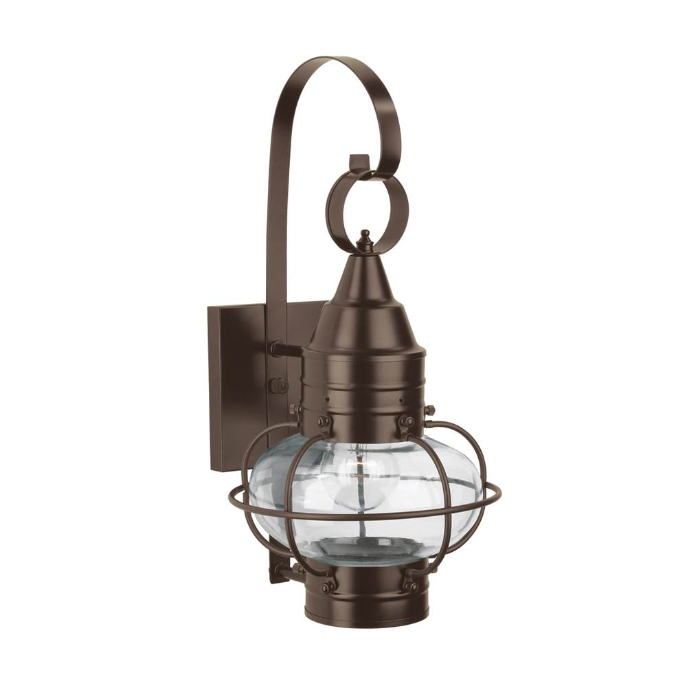 Norwell One Light Bronze Wall Lantern