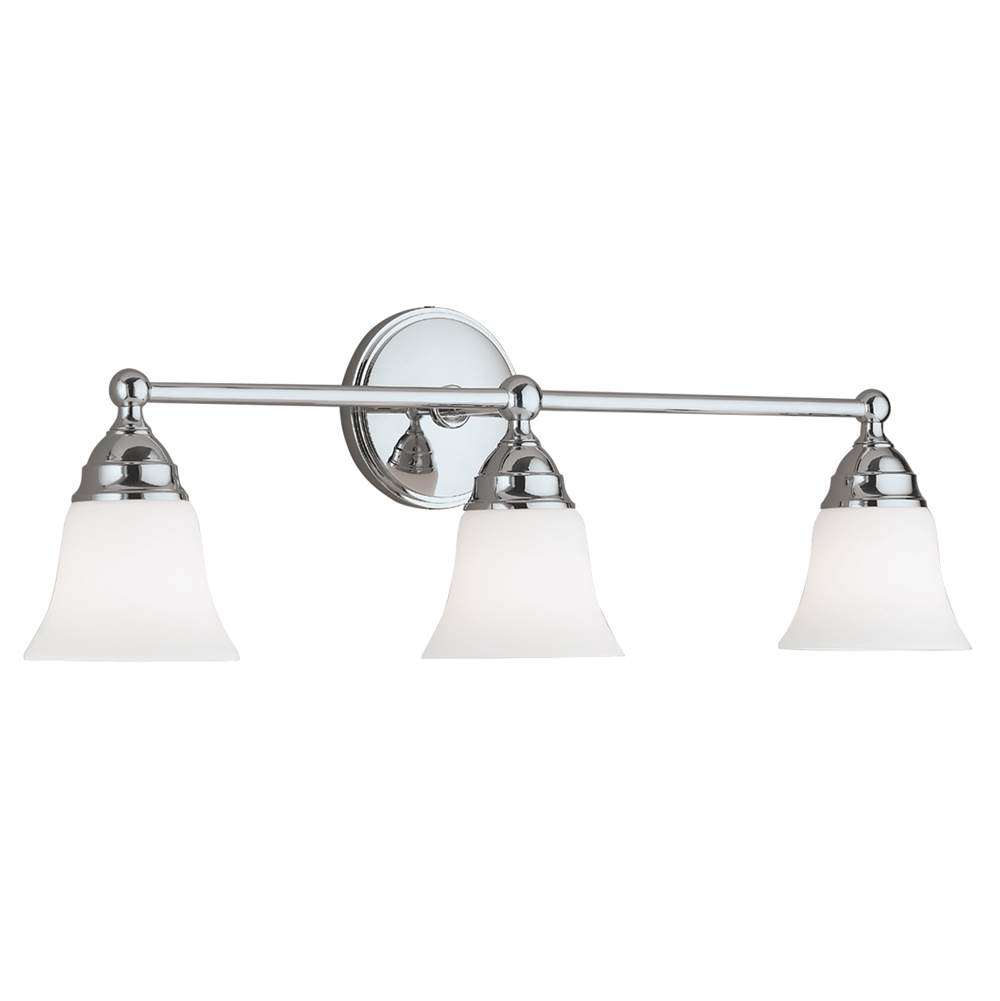 Norwell Three Light Chrome Vanity