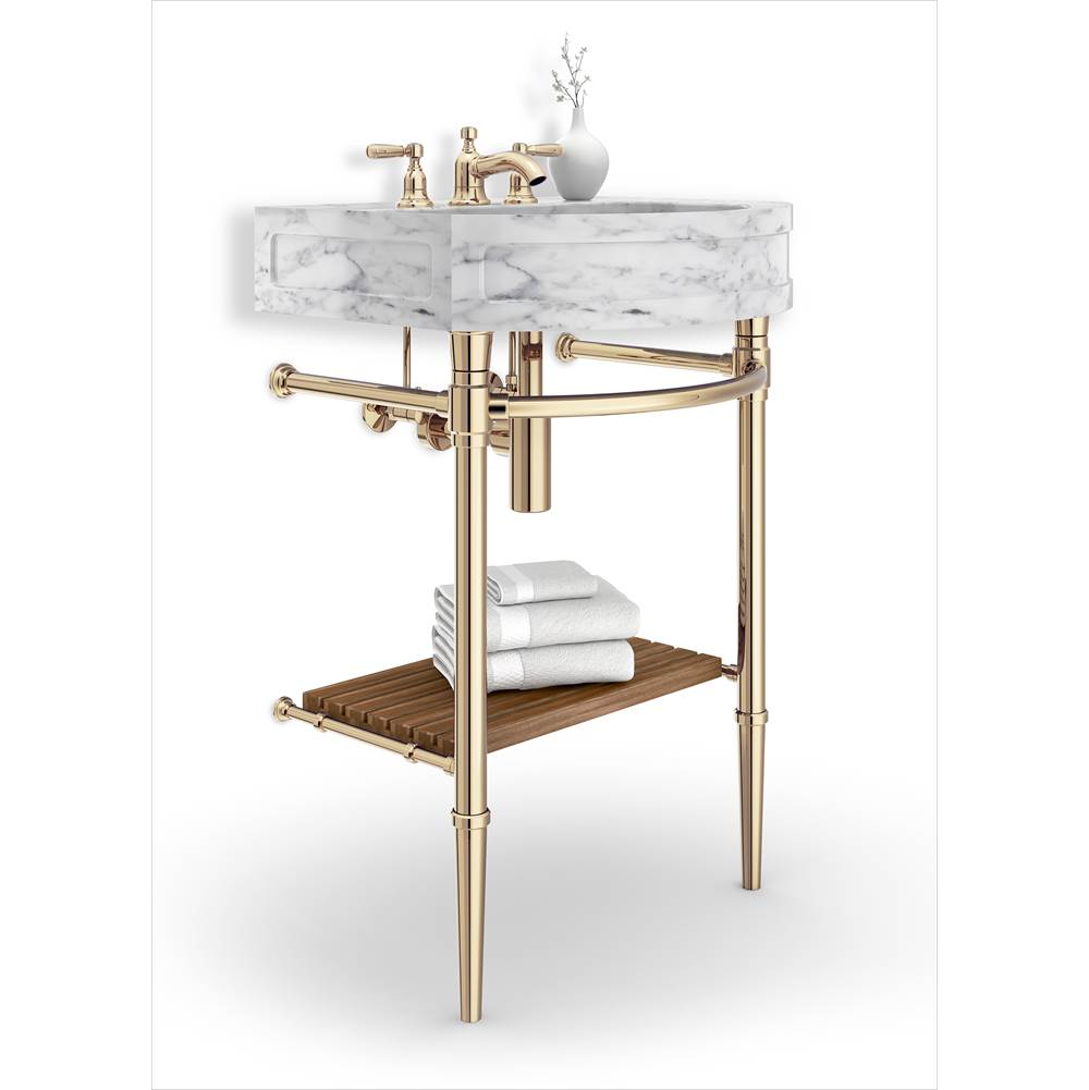 Palmer Industries Jamestown 2 Leg Vanity Console