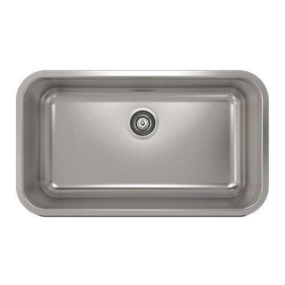 Pro Chef ProInox E200 sink undermount, double L4X16X9 R14X16X9