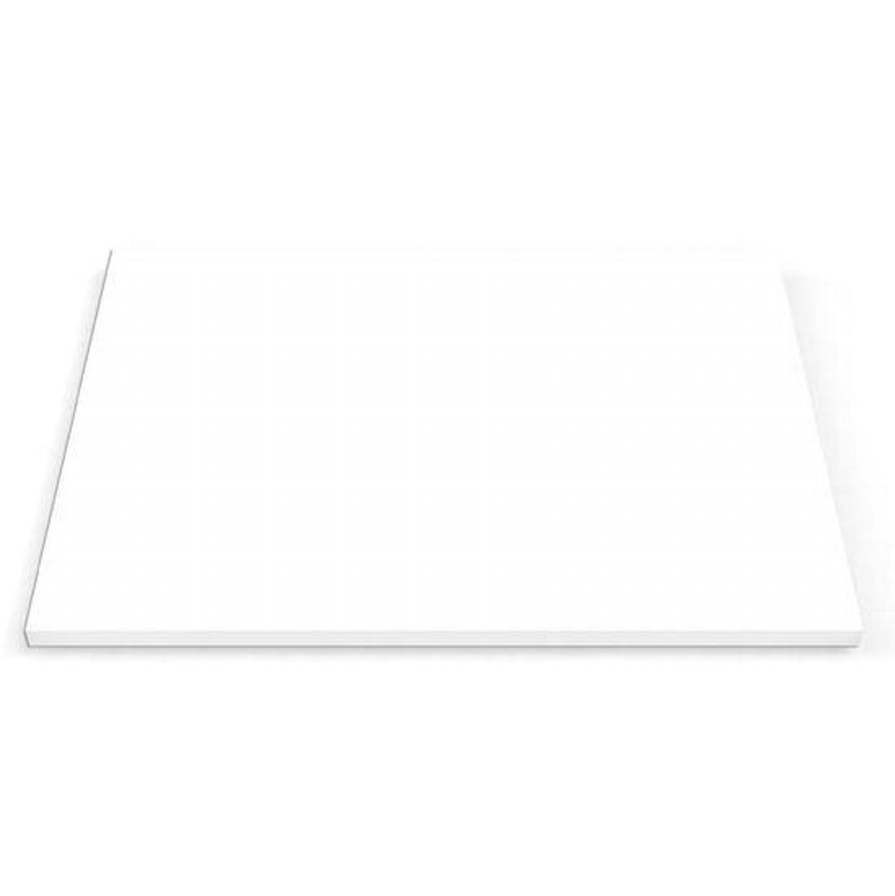 Pro Chef Cutting board for ProInox H0 and H75 sink, white HDPE, 12X16-1/2X3/4