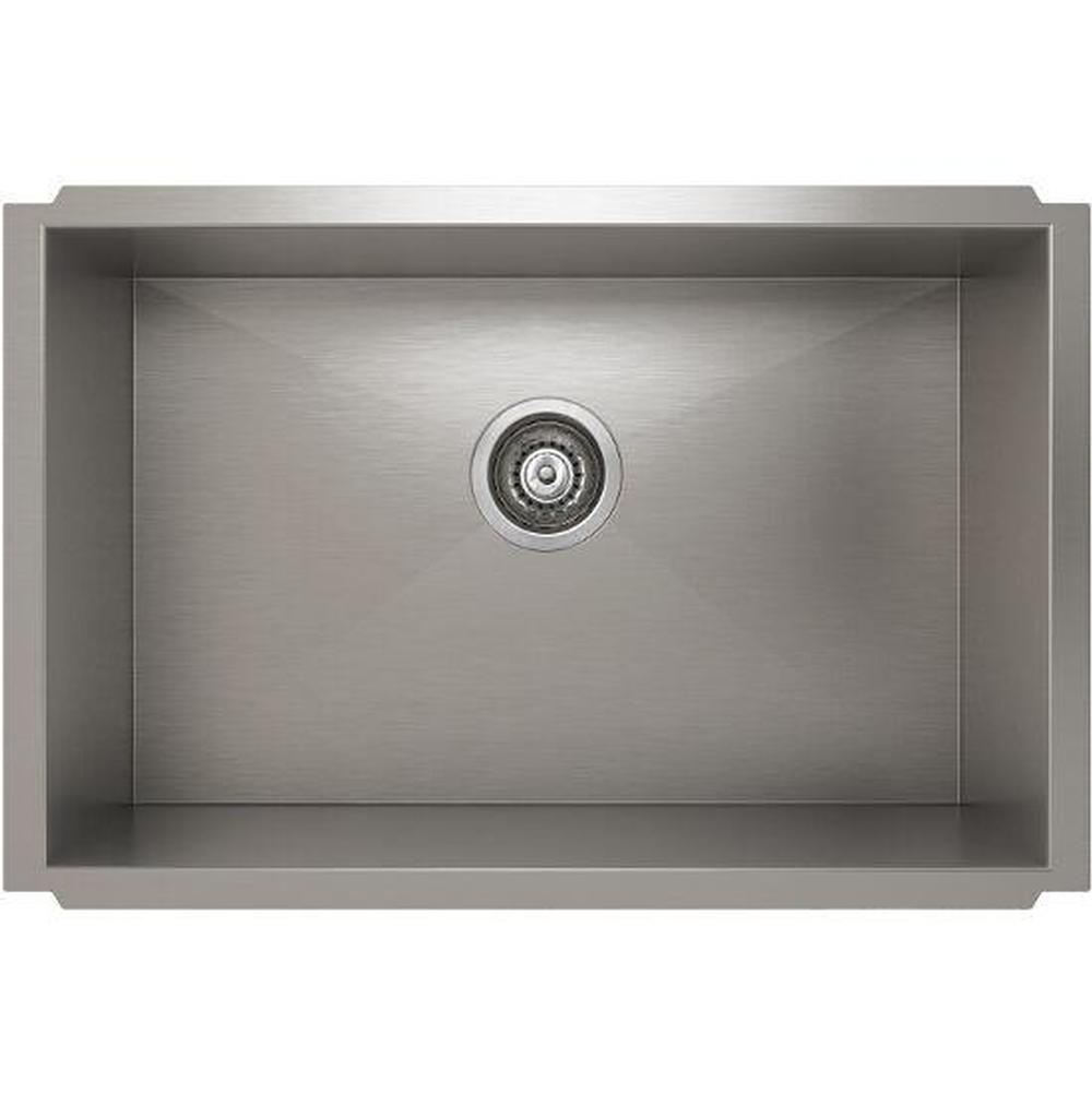 Pro Chef ProInox H0 sink undermount, single 25X16X10