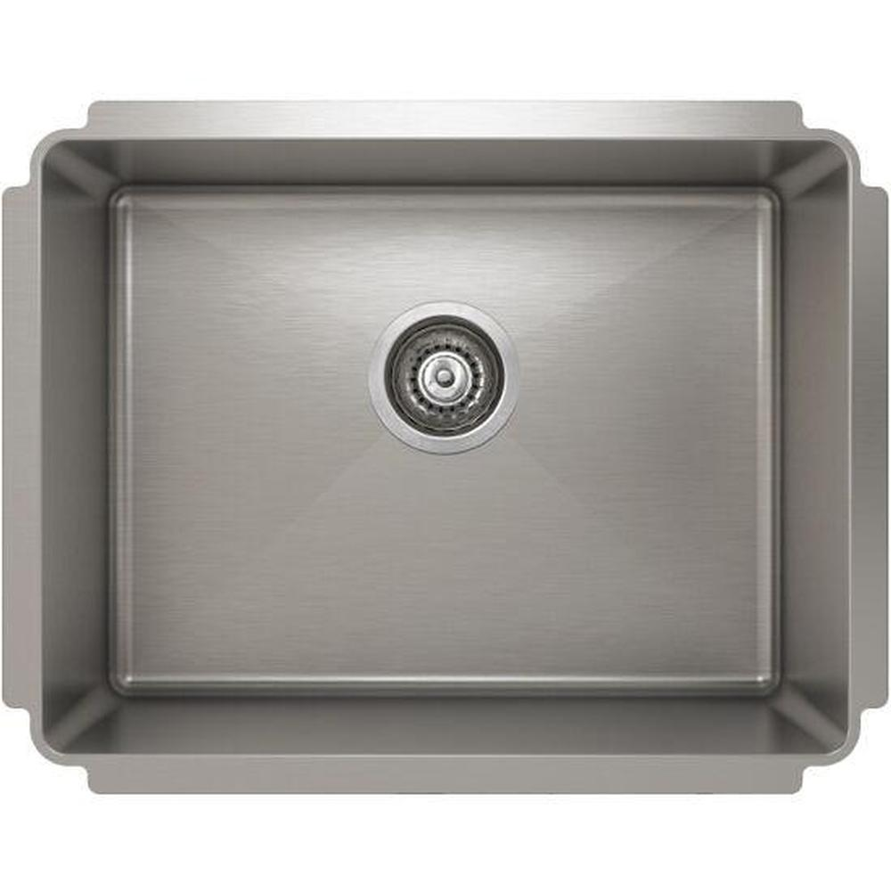 Pro Chef ProInox H75 sink undermount, single 21X16X10