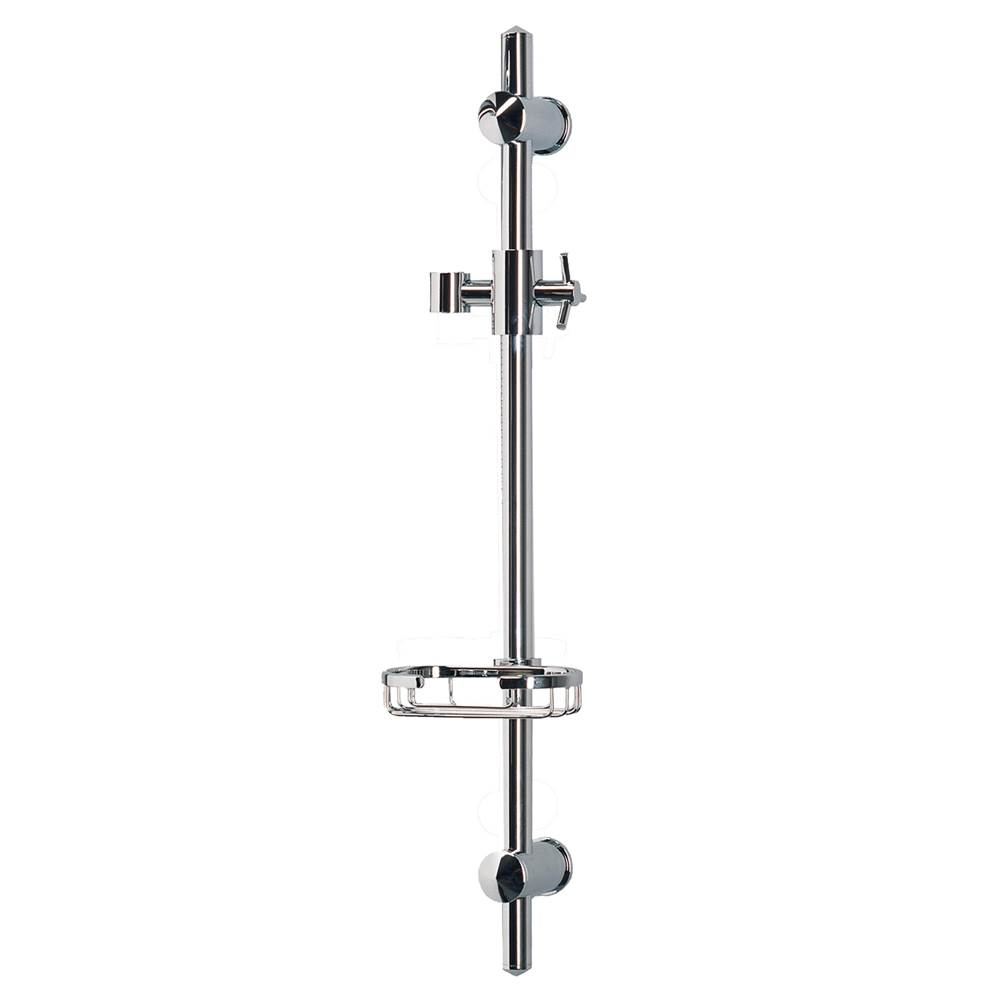 Pulse Shower Spas PULSE ShowerSpas Chrome Adjustable Slide Bar Shower Panel Accessory
