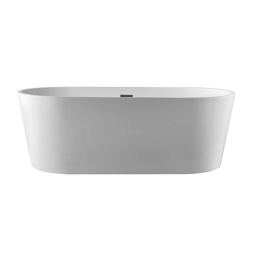 Pulse Shower Spas PULSE Tubs White Freestanding Tub
